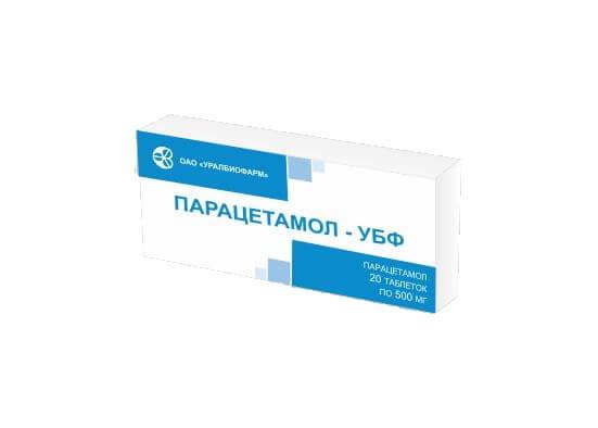 Парацетамол убф инструкция таблетки