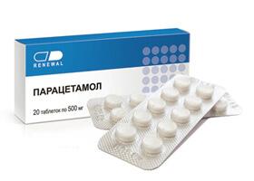 Парацетамол в первом триместре