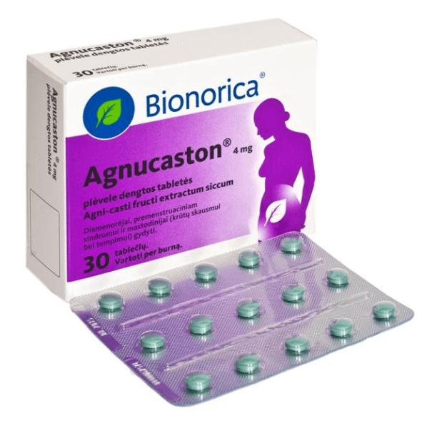 Агнукастон: инструкция по применению таблеток и капель