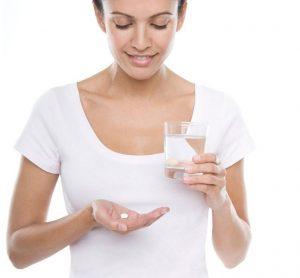 прием таблеток визанны