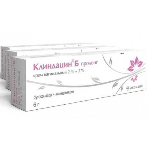 Клиндацин Б пролонг: инструкция по применению вагинального противогрибкового крема