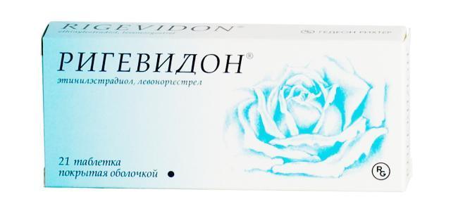 Ригевидон: инструкция по применению таблеток