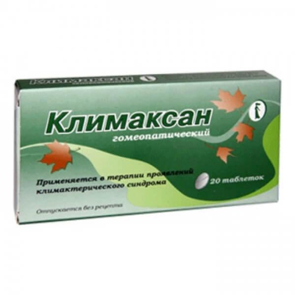 Климаксан: инструкция по применению гомеопатических таблеток