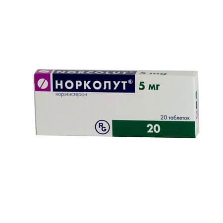 Норколут: инструкция по применению таблеток