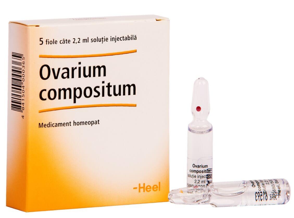 Овариум Композитум: инструкция по применению гомеопатического раствора