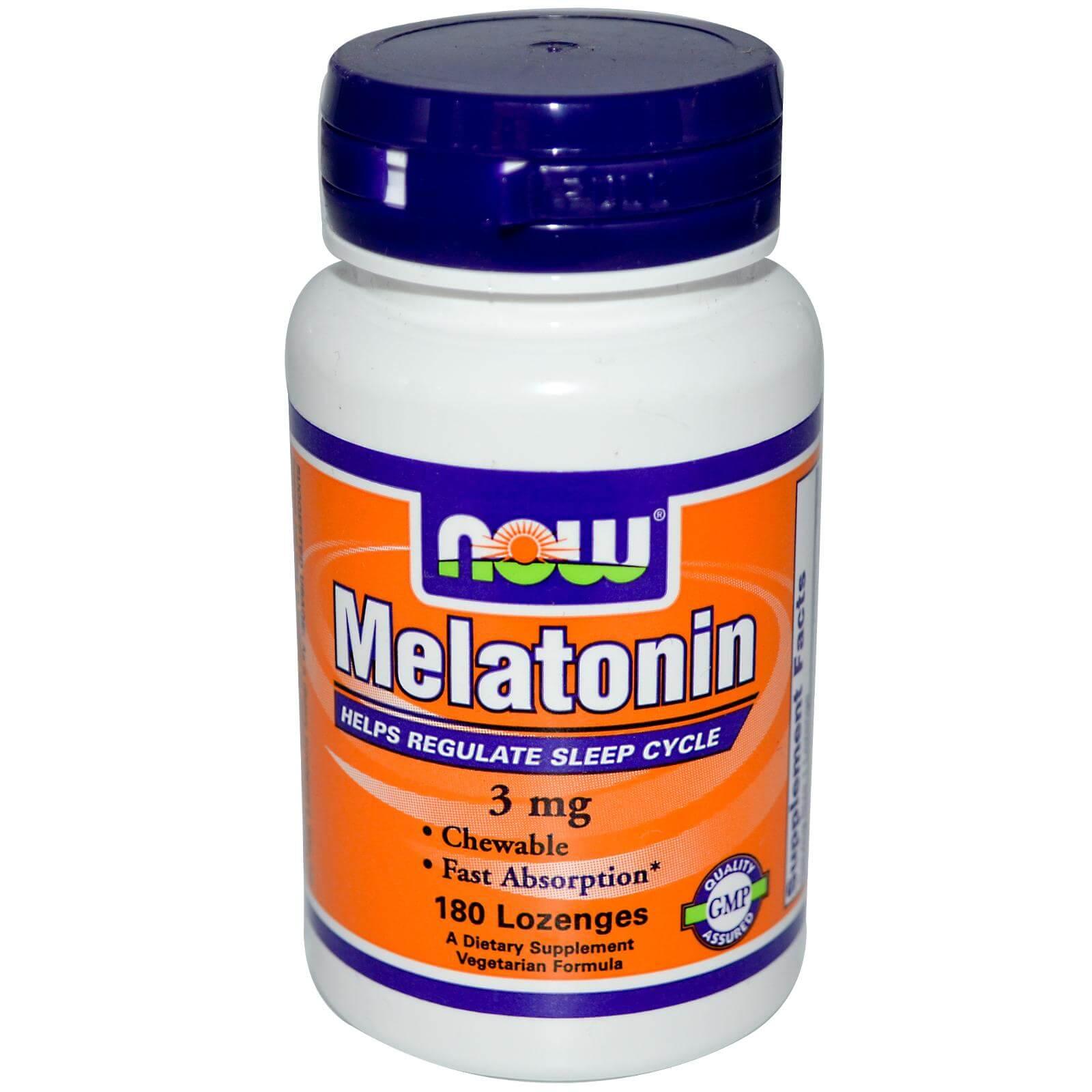 Мелатонин: инструкция по применению снотворного