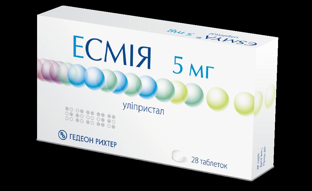 Эсмия: инструкция по применению таблеток
