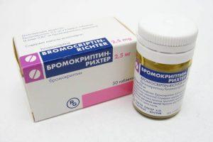 бромокриптин рихтер