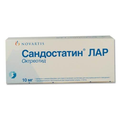 Сандостатин Лар: инструкция по применению раствора
