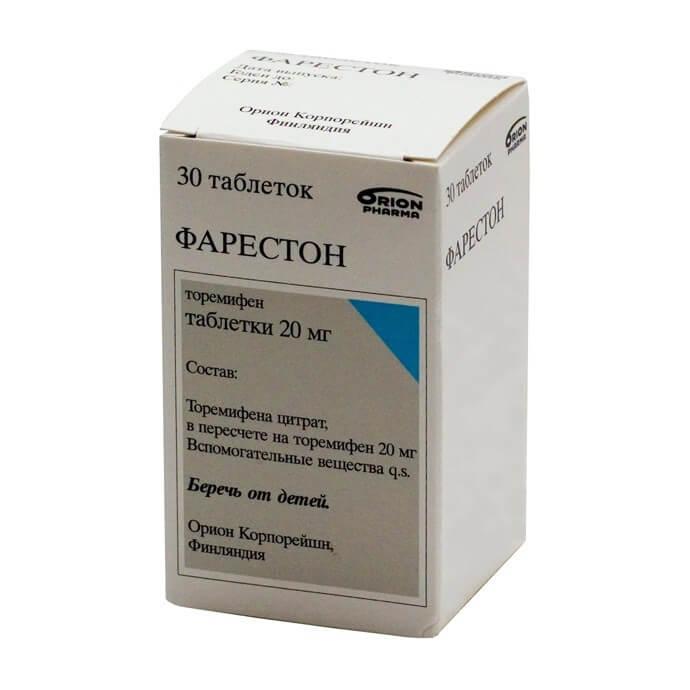 Фарестон: инструкция по применению таблеток