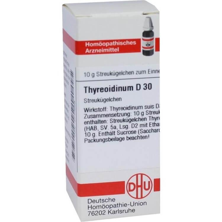 Тиреоидин: инструкция по применению гранул и таблеток