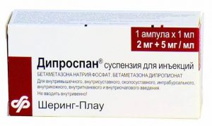 блокада с дипроспаном при грыже позвоночника
