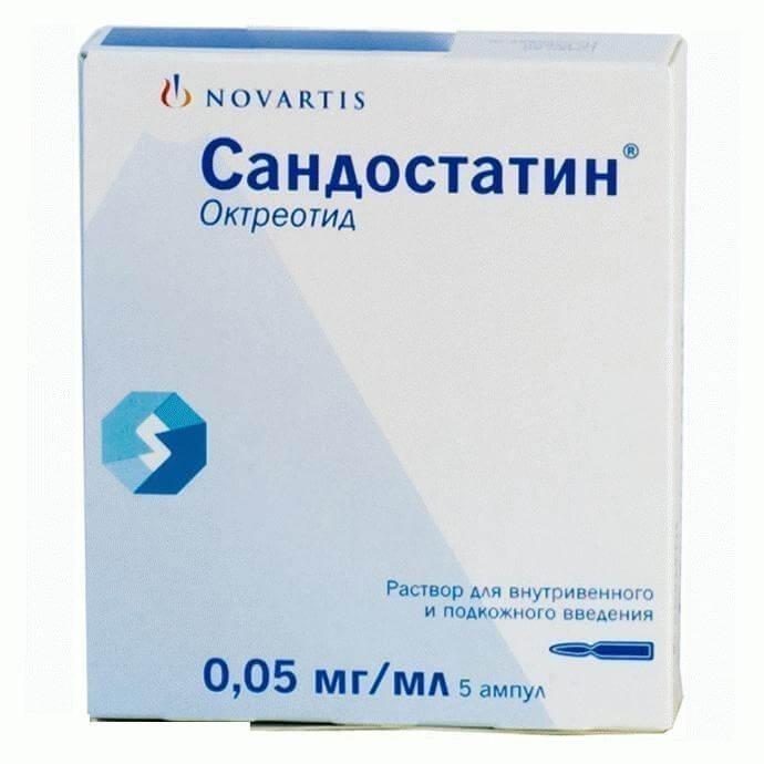 Сандостатин: инструкция по применению раствора