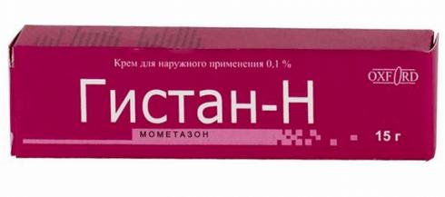 Гистан Н: инструкция по применению крема