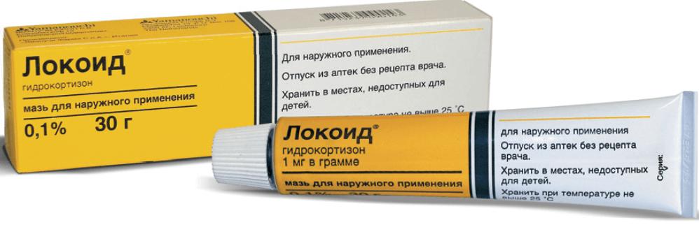 Локоид: инструкция по применению крема и мази