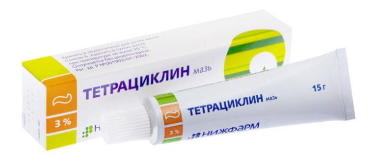 Глазная тетрациклиновая мазь: инструкция по применению