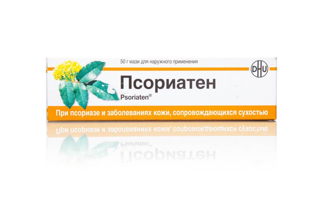 Псориатен: инструкция по применению гомеопатической мази