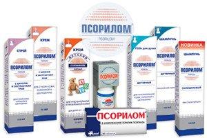 Псорилом: инструкция по применению гранул, крема и шампуня, спрея