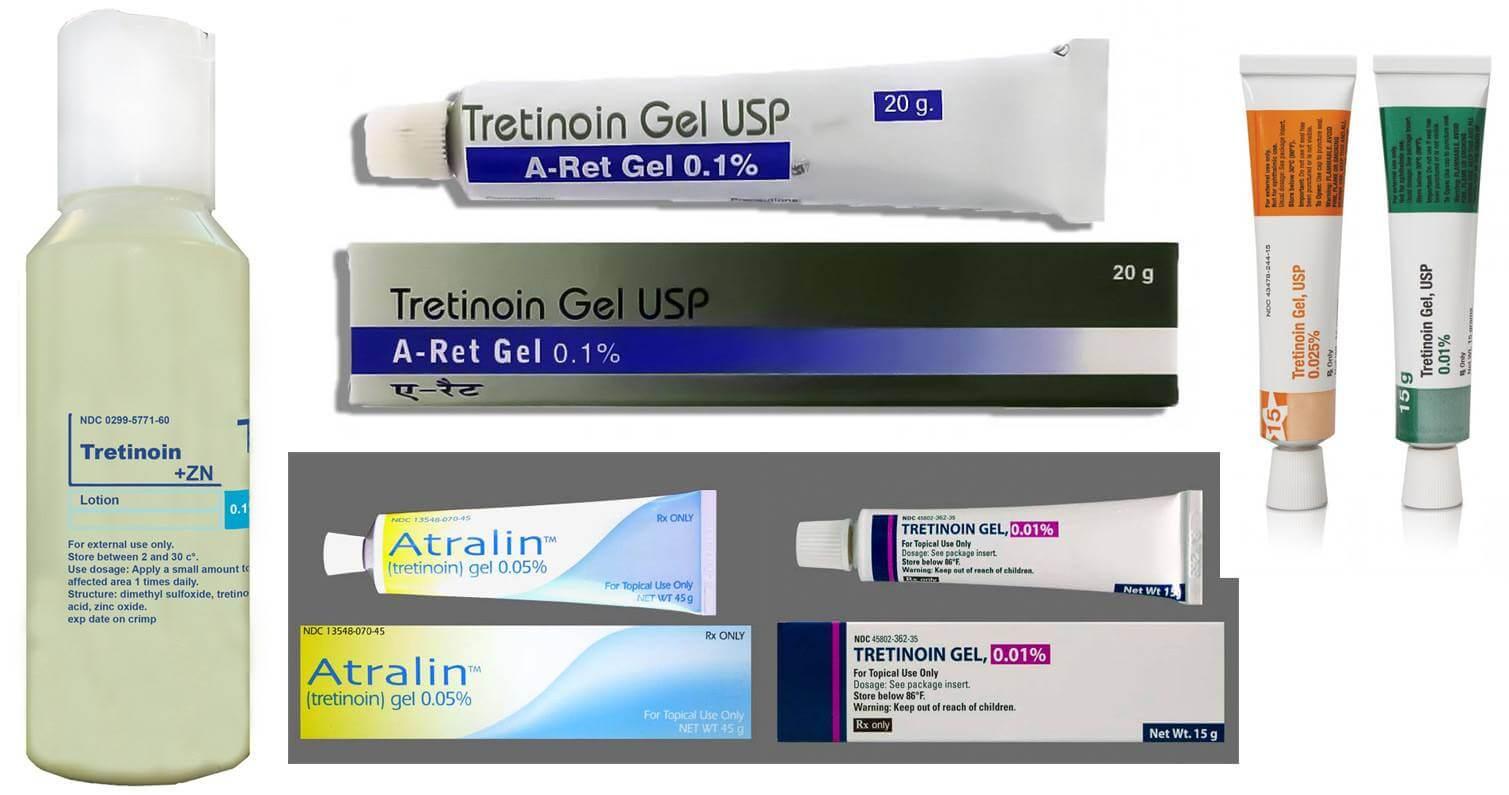 Третиноин: инструкция по применению капсул, геля, крема и лосьона