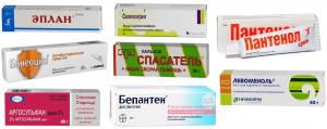 Обзор ранозаживляющих препаратов