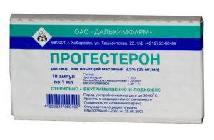 Прием препаратов для нормализации гормонального дисбаланса