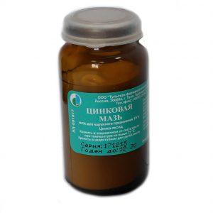 Цинковая мазь при мокнущем дерматите: способы лечения
