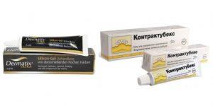 Дерматикс или Контрактубекс: какой препарат лучше