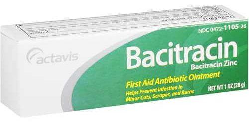Бацитрацин: инструкция по применению мази
