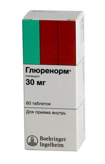 Глюренорм: инструкция по применению таблеток