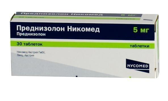 Преднизолон Никомед: инструкция по применению раствора и таблеток