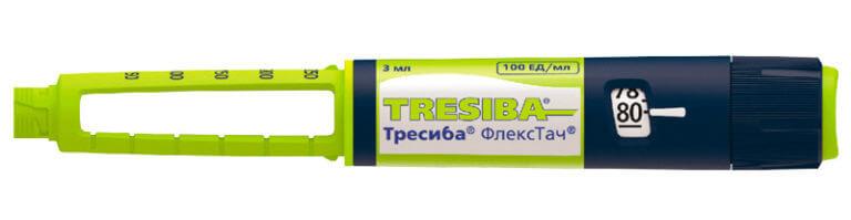 Инсулин Тресиба: инструкция по применению раствора