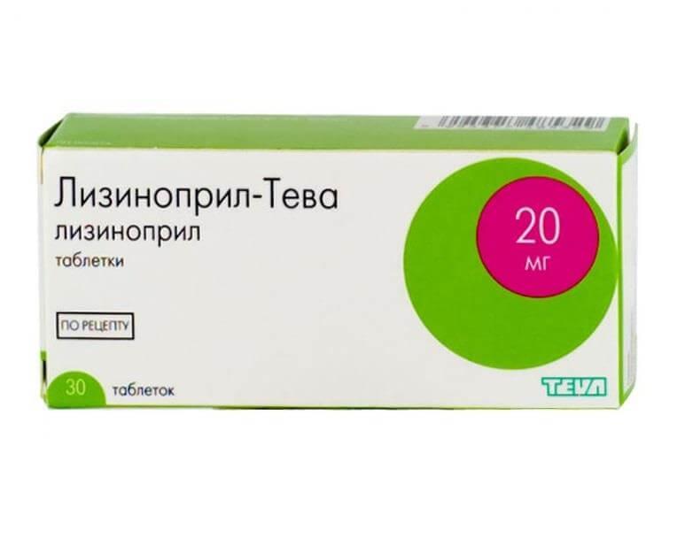 Лизиноприл: инструкция по применению таблеток