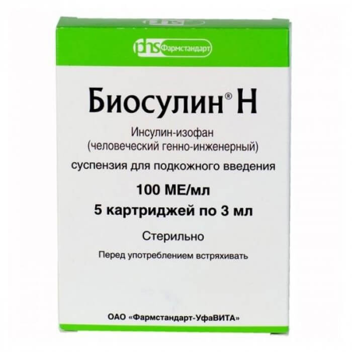 Биосулин: инструкция по применению суспензии и раствора