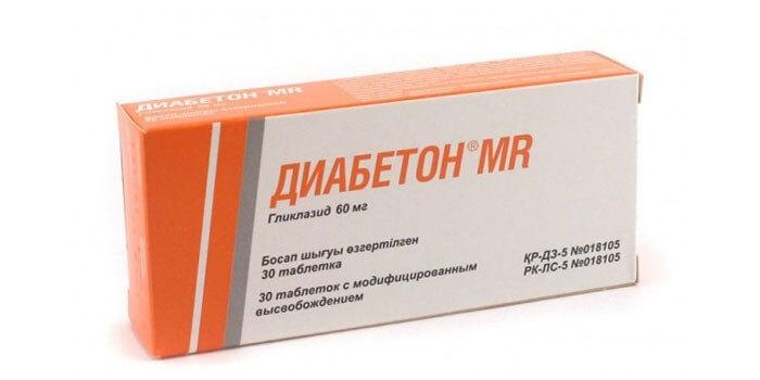 Диабетон МВ: инструкция по применению таблеток