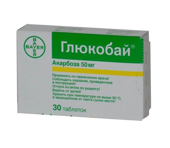Глюкобай: инструкция по применению таблеток