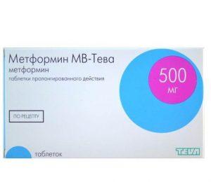 метформин тева инструкция по применению