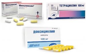 Антибиотики тетрациклинового ряда: список и характеристика