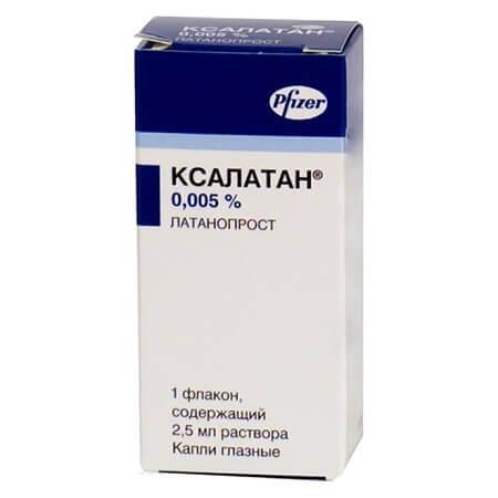 Ксалатан: инструкция по применению глазных капель