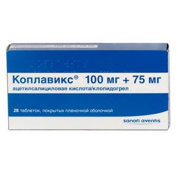 Коплавикс: инструкция по применению таблеток