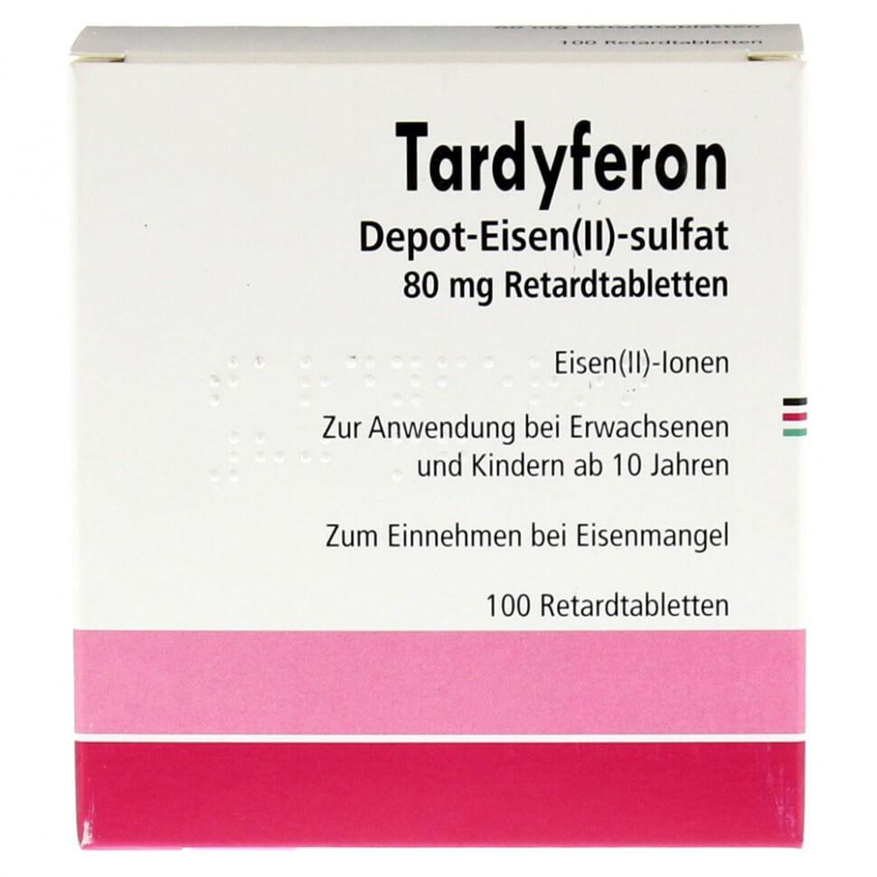 Тардиферон: инструкция по применению таблеток