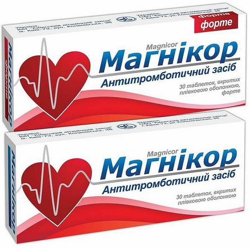Магникор: инструкция по применению таблеток