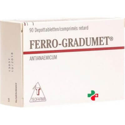 Ферроградумет: инструкция по применению таблеток