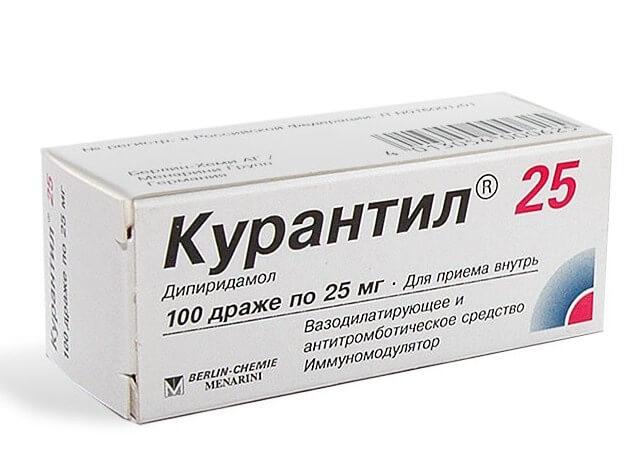 Курантил: инструкция по применению таблеток