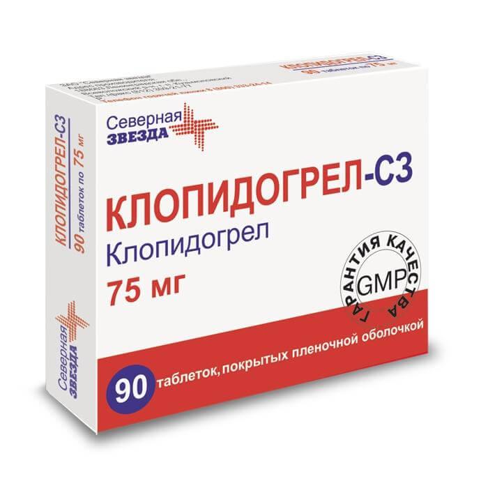 Клопидогрел: инструкция по применению таблеток