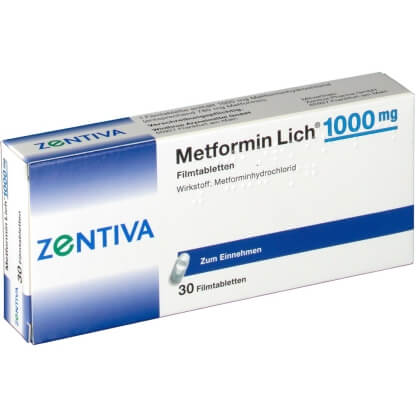 Метформин-Зентива: инструкция по применению таблеток