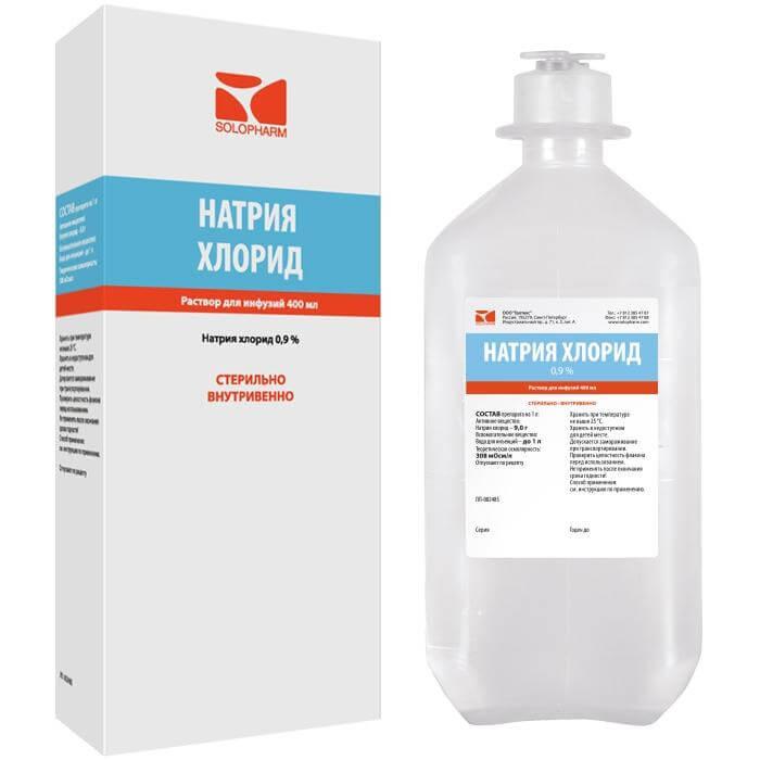 В домашних условиях натрий хлорид 244
