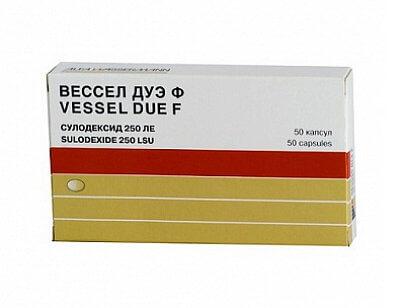 Вессел дуэ ф: инструкция по применению капсул и раствора