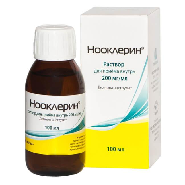 Нооклерин: инструкция по применению раствора
