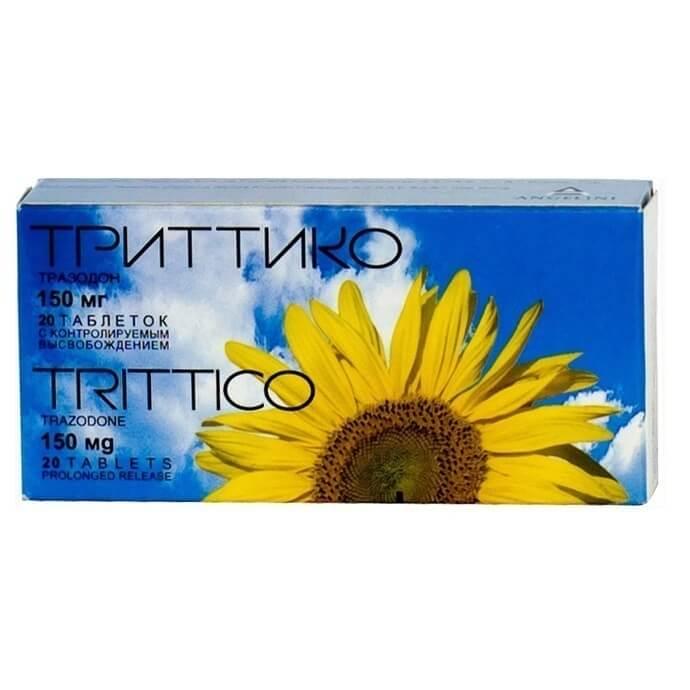 Триттико: инструкция по применению таблеток