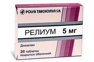 Релиум: инструкция по применению таблеток и раствора